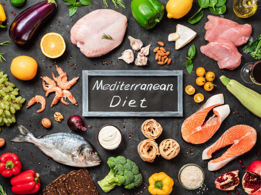Dieta Chetogenica sfondo